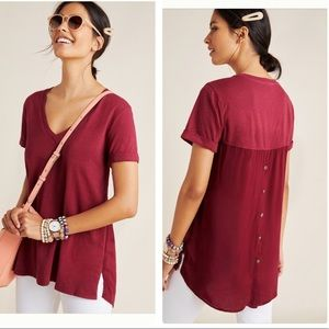 NWT Anthropologie Dorothea top